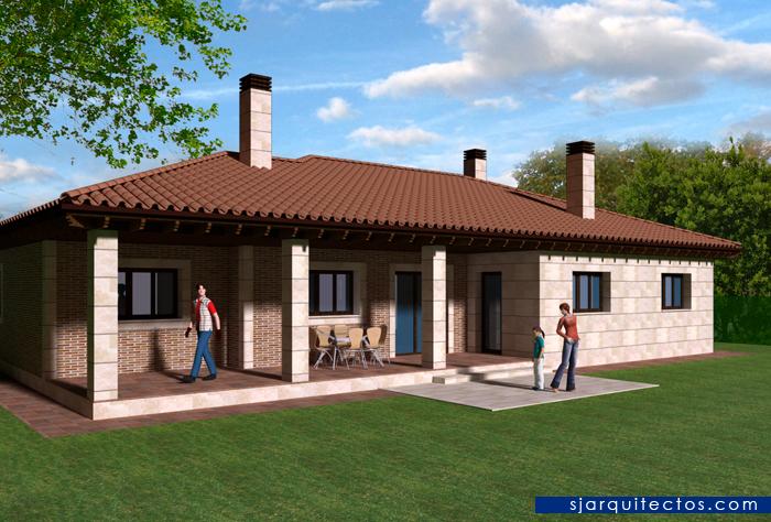 Vivienda en le n casa pv sj arquitectos - Fotos de casas de planta baja ...