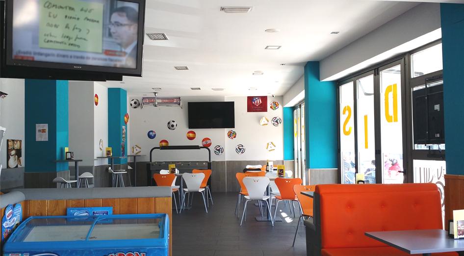 Proyecto bar y cafeter a en le n sj arquitectos - Proyecto bar cafeteria ...